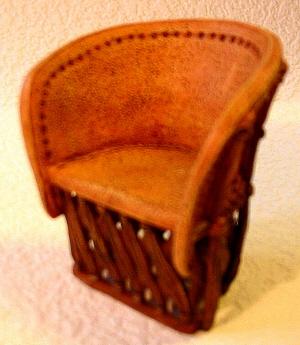 Description Mexican Leather Chair