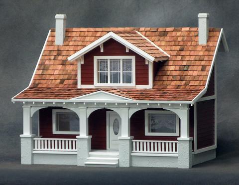 1 2 Scale Dollhouse Kits Monumental Miniatures