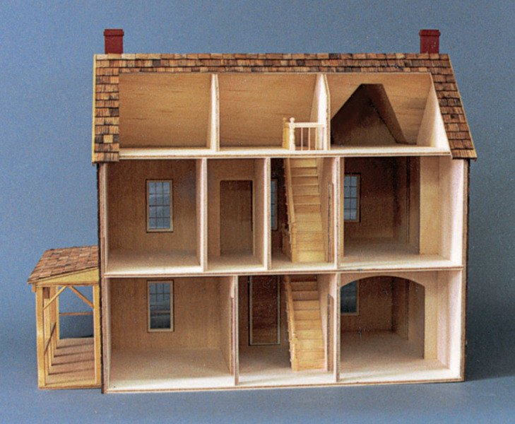 Themed Dollhouse Kits Monumental Miniatures